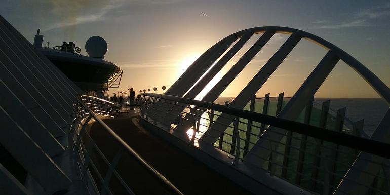enchantment of the seas royal caribbean sunset