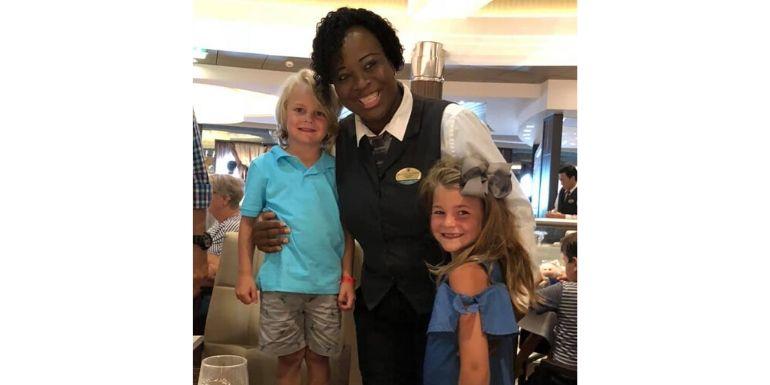 harmony of the seas dinner dining staff family cruise