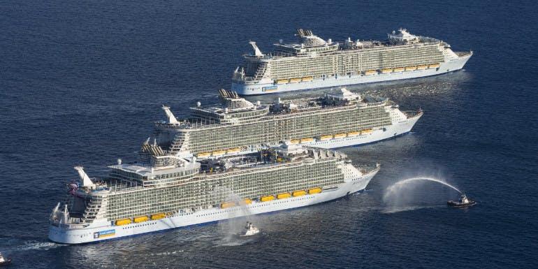 Oasis allure harmony royal caribbean mega ship