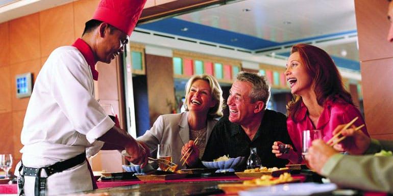cruise cost estimate specialty restaurants