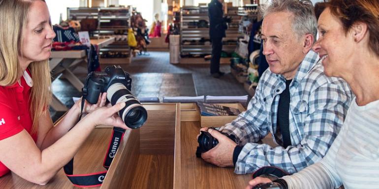 hurtigruten canon academy photography classes