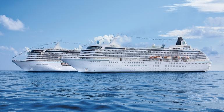 crystal cruises symphony serenity exterior ships