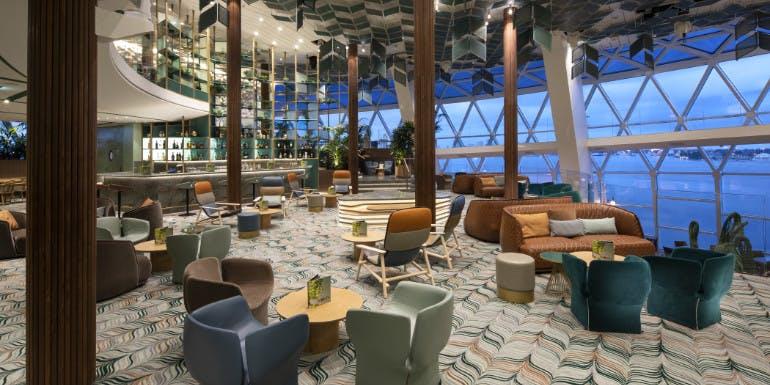 celebrity edge eden bar cruise ship