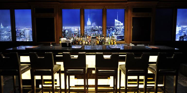 disney cruise line skyline city bar