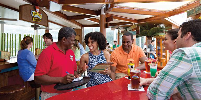 carnival cruise redfrog rum bar lido