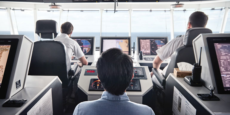 cruise boat terms lingo bridge captain