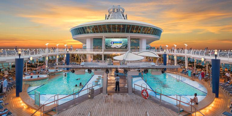cruise terms vocab lido deck