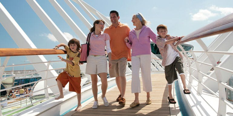kids sail free special offer cruise