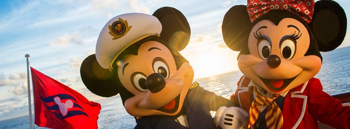 How many captains can you find on each Disney Cruise Ship?