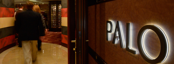 What inspired the design of the restaurant Palo?