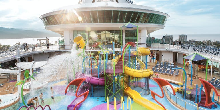 splashaway bay water park kids royal caribbean