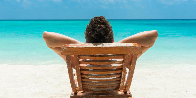 beach bum ocean dream caribbean island