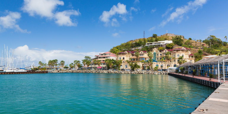 marigot st. martin dream caribbean island