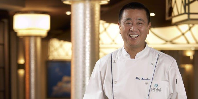 nobu matsuhisa crystal cruises dining restaurant