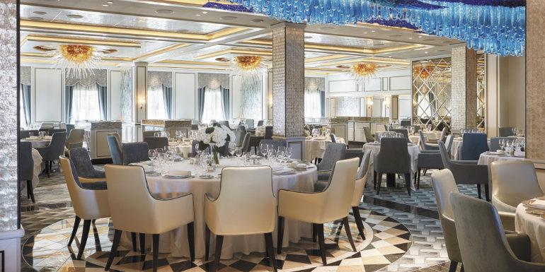 regent seven seas compass rose dining