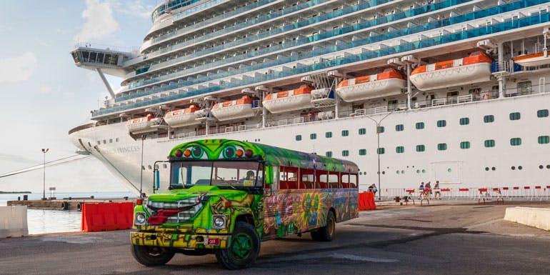 cruise ship bus tour