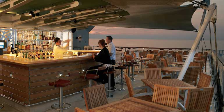 quiet hideout on cruise