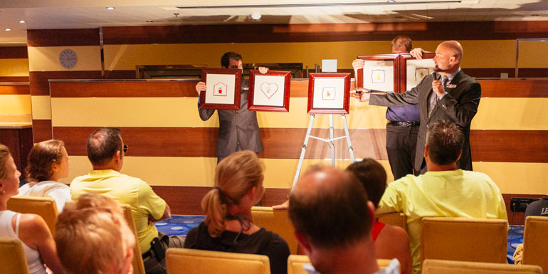 art auction drink free cruise carnival