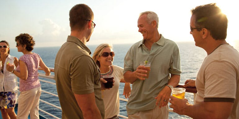 carnival cruise free drinks rail group