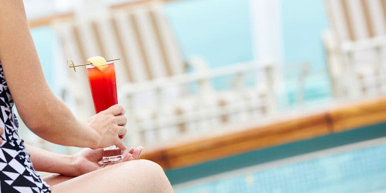 princess cruise drink for free pool