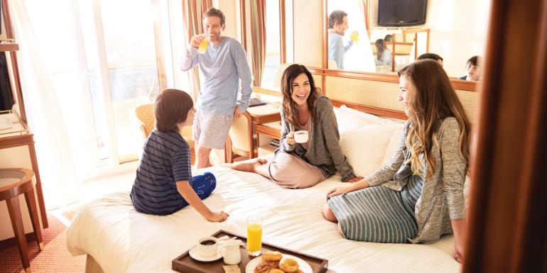 princess cruise room service breakfast free