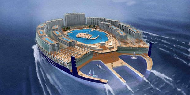 horseshoe ship concept