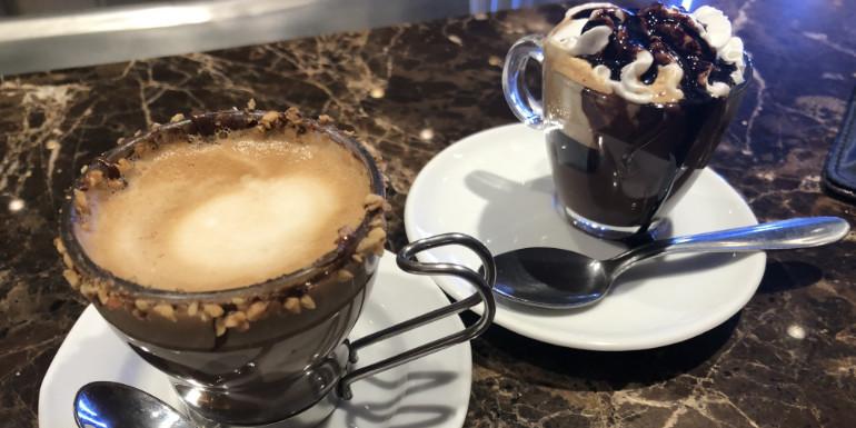 msc seaside venchi coffee chocolate drinks
