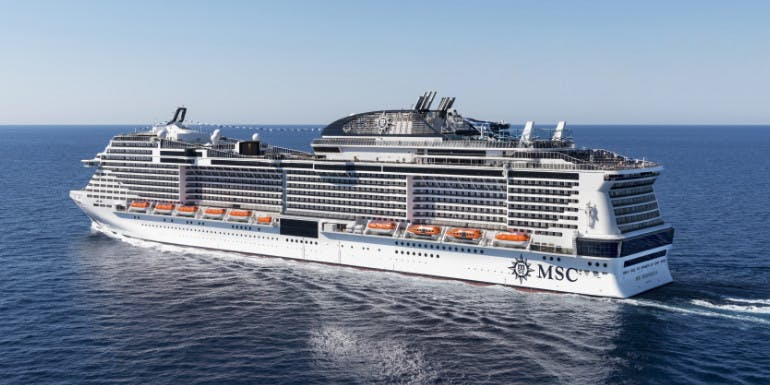 msc meraviglia largest cruise ship bellissima