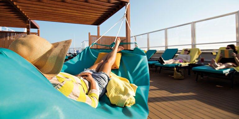 lazy cruise serenity deck