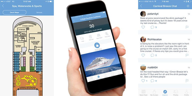 ship mate cruise app chat maps