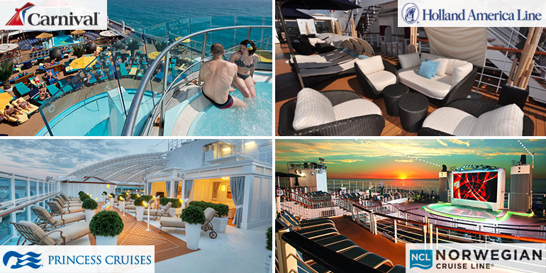 cruise ship lido deck adults only