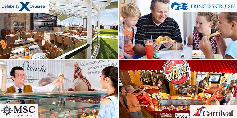 cruise ship lido deck food