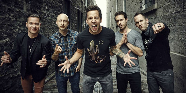 simple plan warped rewind cruise