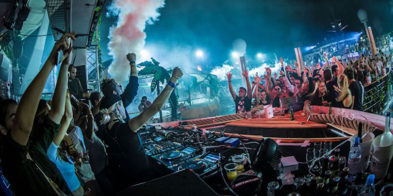 dance music cruise ark theme electronic