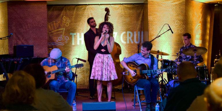 jazz music theme cruise band ship
