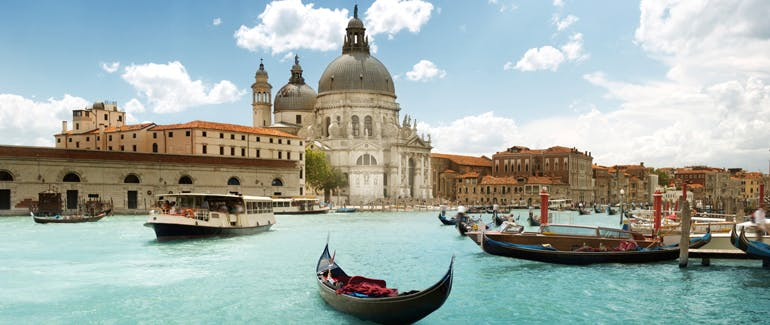 This Italian port is famous for its Grand Canal.