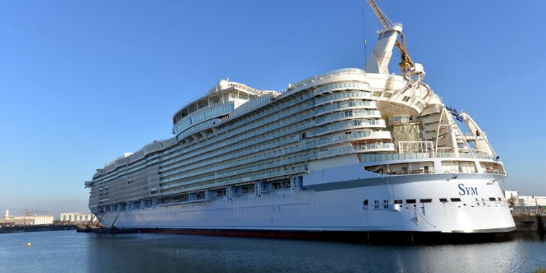 symphony of the seas cruise ship