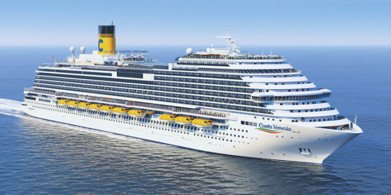 costa venezia china cruise ship 2019