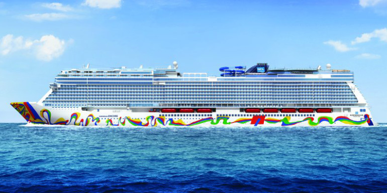 norwegian encore new cruise ship 2019