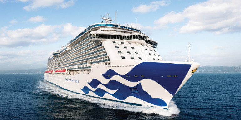 sky princess new cruise ship 2019