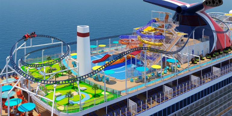carnival mardi gras roller coaster new ships 2020
