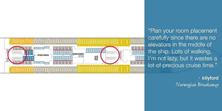 norwegian cruise tips deck map plan