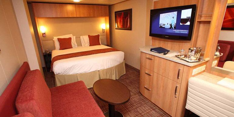 inside cabin cruise ship no window