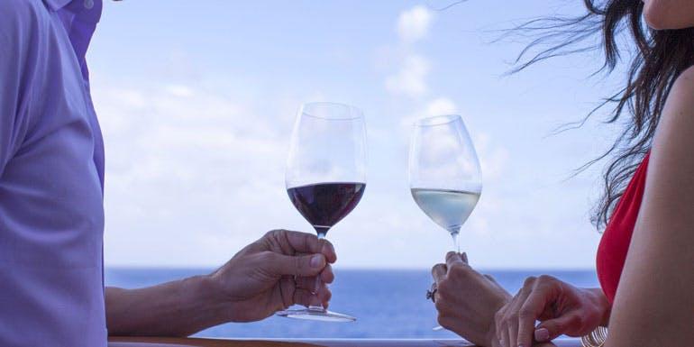 wine balcony only on cruise