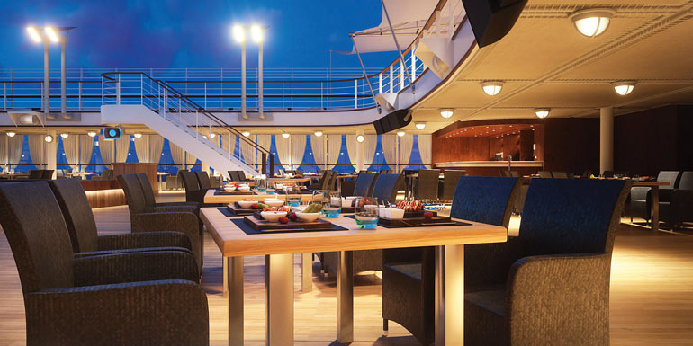 black rock grill cruise outdoor restaurant