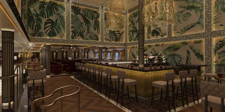 brass magnolia bar carnival cruise mardi gras rendering
