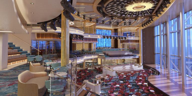 carnival cruise mardi gras atrium rendering