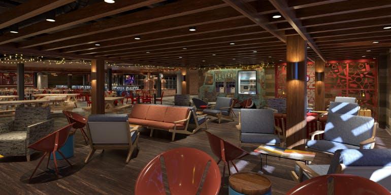guys pig anchor smokehouse lounge carnival cruise mardi gras rendering