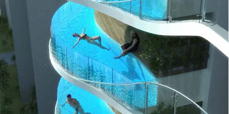 balcony pool cruise ship