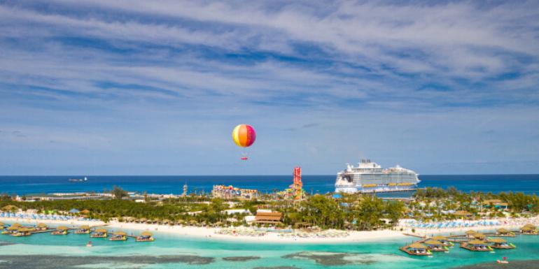cococay cruise ship private island